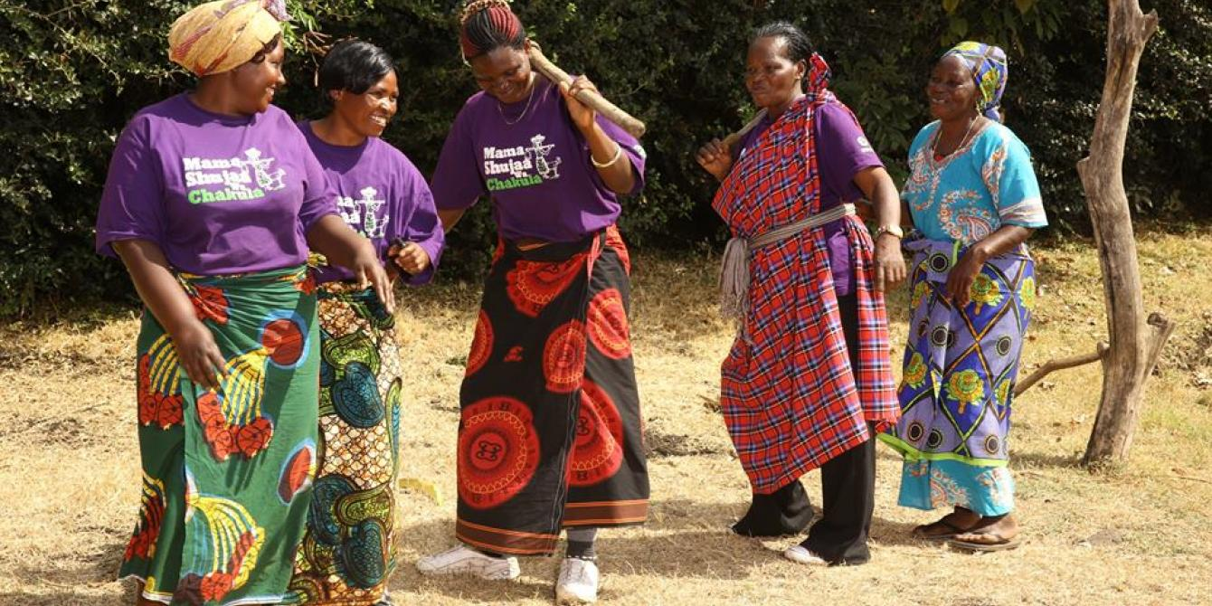 Female Food Heroes have demonstrated, empowering women food producers as entrepreneurs is transformational for the women, their children and entire communities. Photo: Kwetu Studios/Oxfam